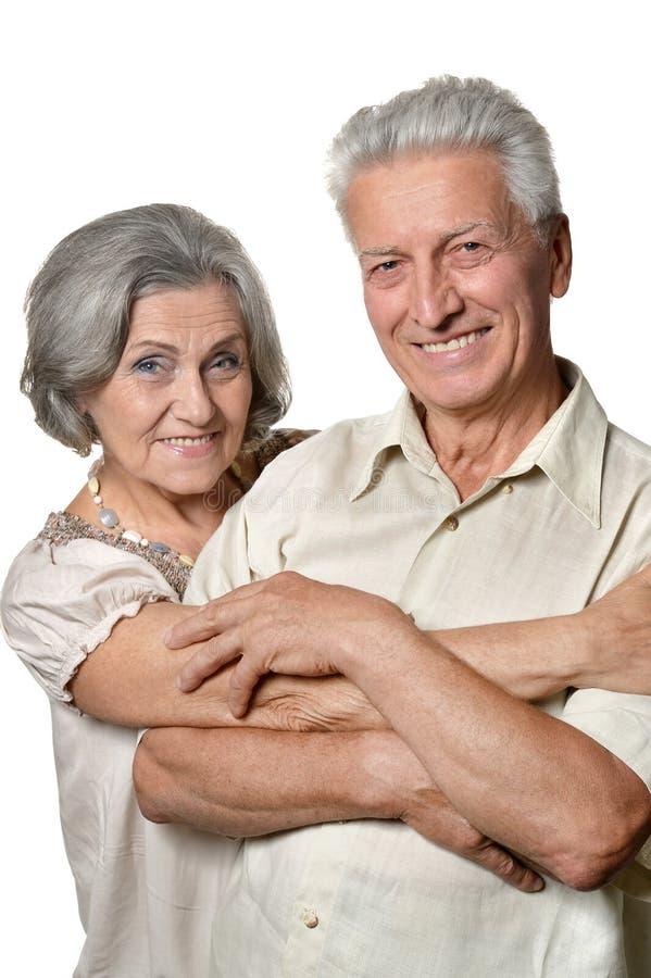 Vieux couples parfaits photographie stock libre de droits