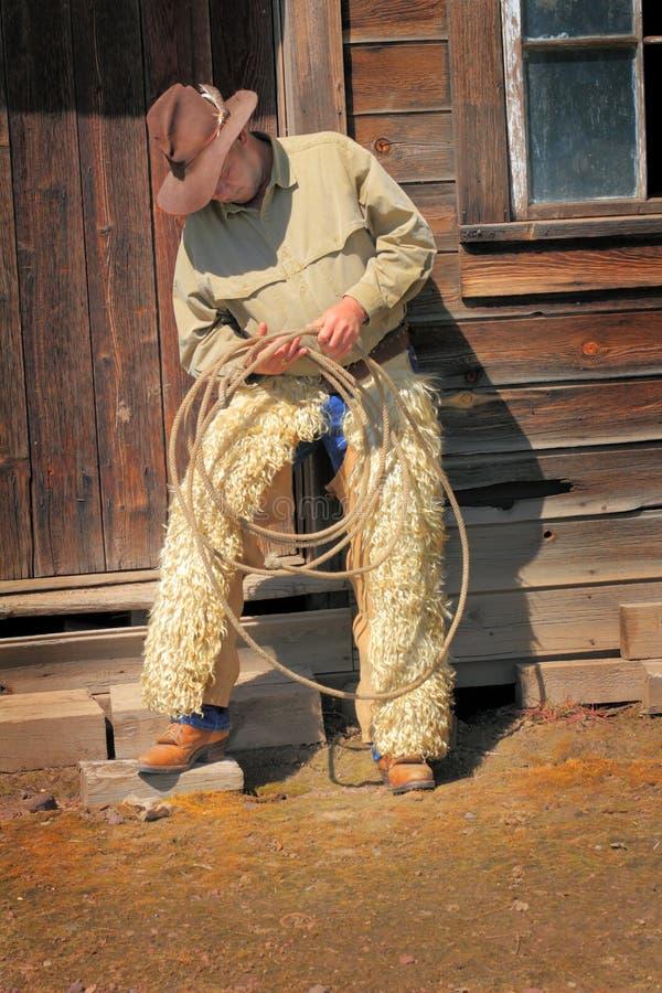 Vieux cowboy image libre de droits