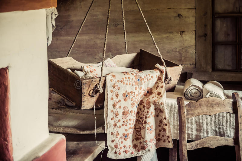 Vieux Craddle image stock