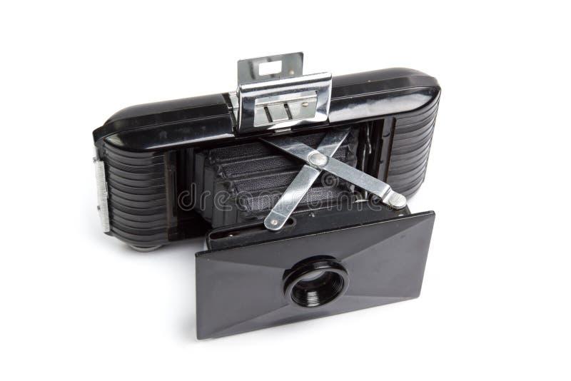 Vieux cru d'appareil-photo   photographie stock