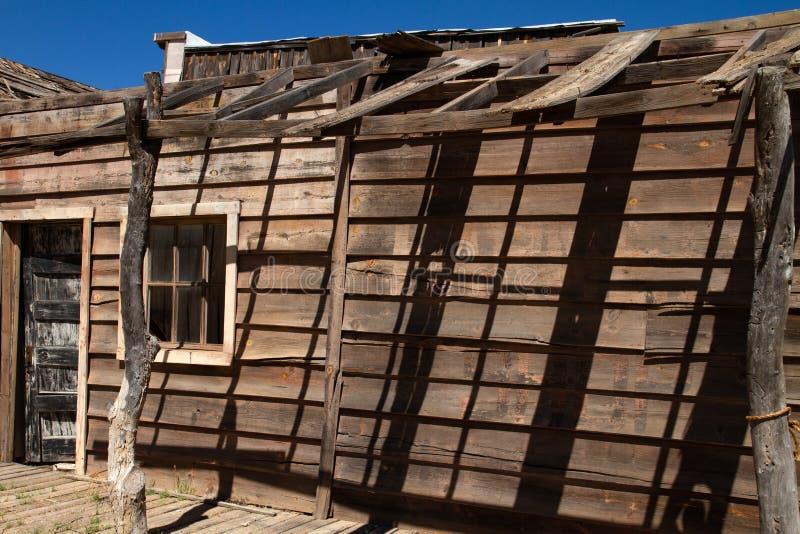 Vieux décor de film occidental sauvage dans le peyotl, Arizona photos libres de droits