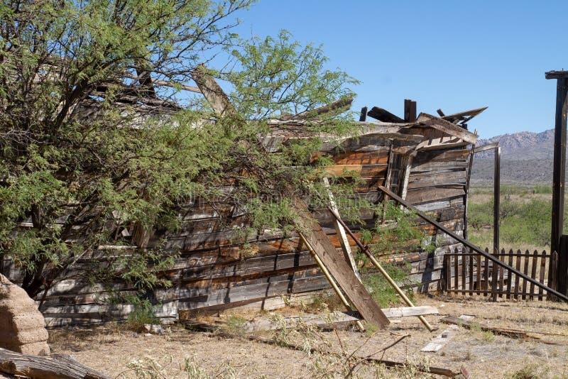 Vieux décor de film occidental sauvage dans le peyotl, Arizona photographie stock libre de droits