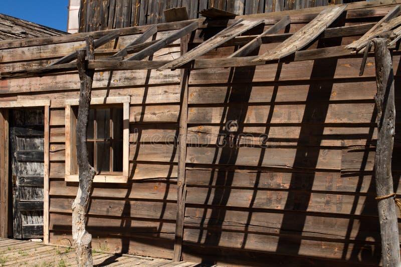Vieux décor de film occidental sauvage dans le peyotl, Arizona photo libre de droits