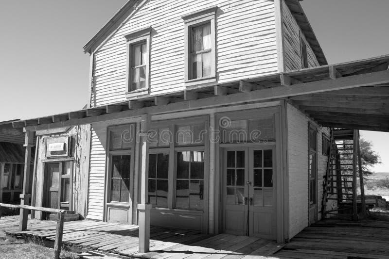 Vieux décor de film occidental sauvage de ville en Arizona photos libres de droits