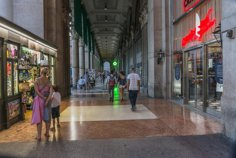 Vieux détail de bâtiment, Milan images libres de droits