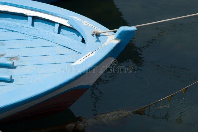 Vieux détail de bateau de pêche image stock