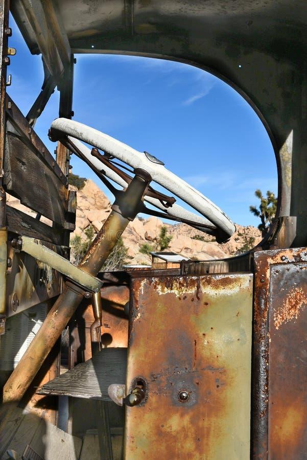 Vieux détail de camion image libre de droits