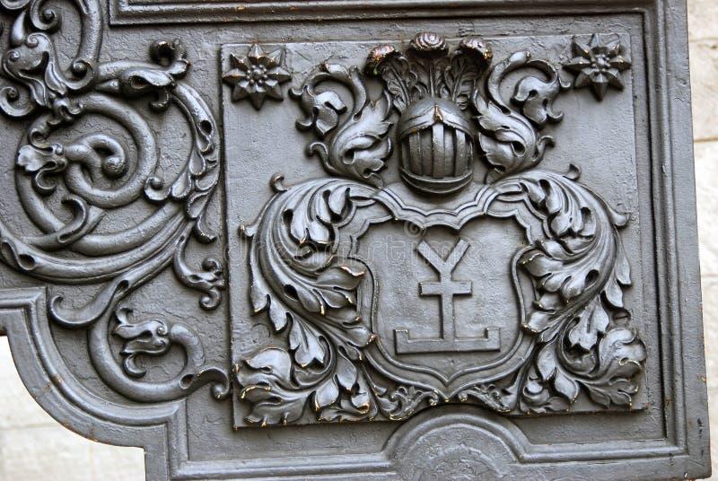 Vieux détail de canon à Moscou Kremlin Site d'héritage de l'UNESCO image libre de droits