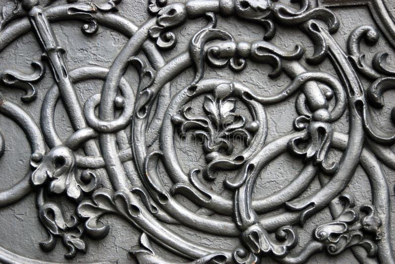 Vieux détail de canon à Moscou Kremlin Site d'héritage de l'UNESCO photo stock