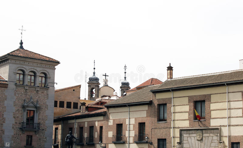Vieux détail de ville image libre de droits