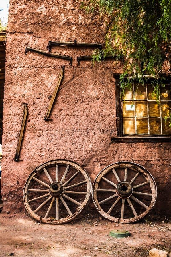 Vieux détail occidental sauvage photographie stock libre de droits