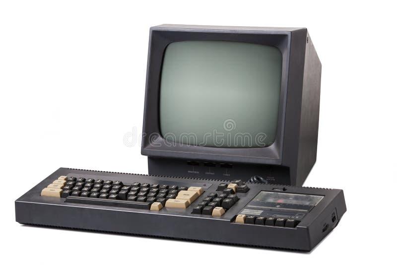 Vieux d'ordinateur personnel image stock