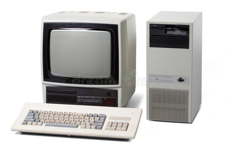 Vieux d'ordinateur personnel images stock