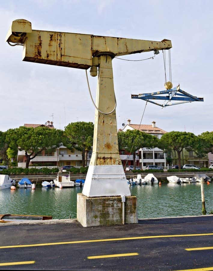 Vieux davier de bateau images stock