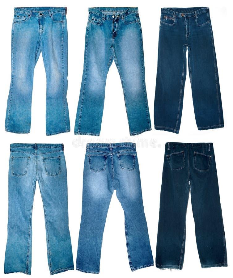 vieux de jeans usé photo libre de droits