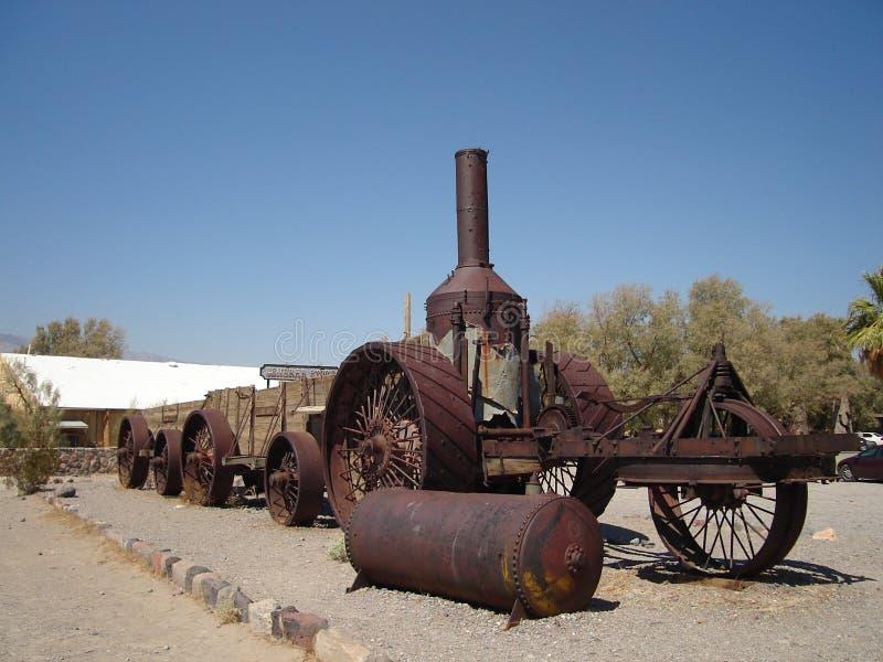 Vieux Dinah dans Death Valley photo libre de droits