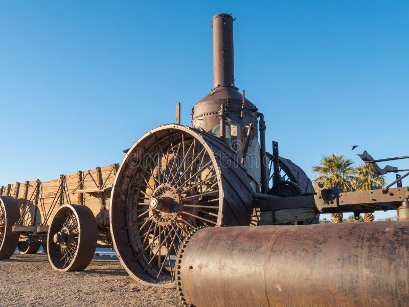 Vieux Dinah, tracteur de vapeur photo stock