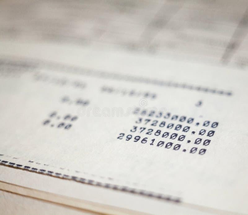 Vieux documents sur papier images stock