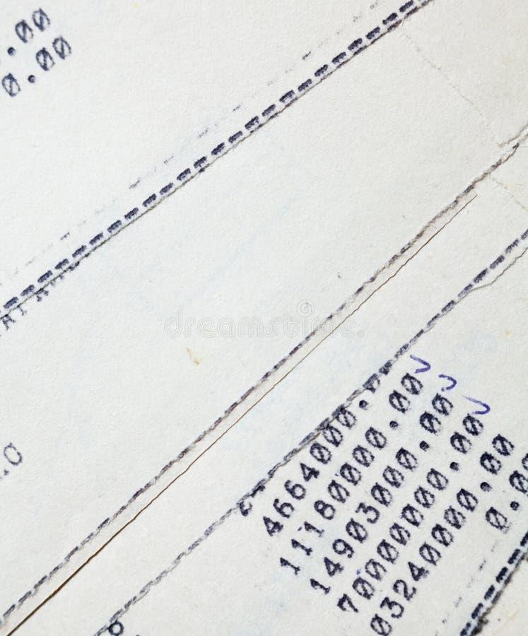 Vieux documents sur papier image stock