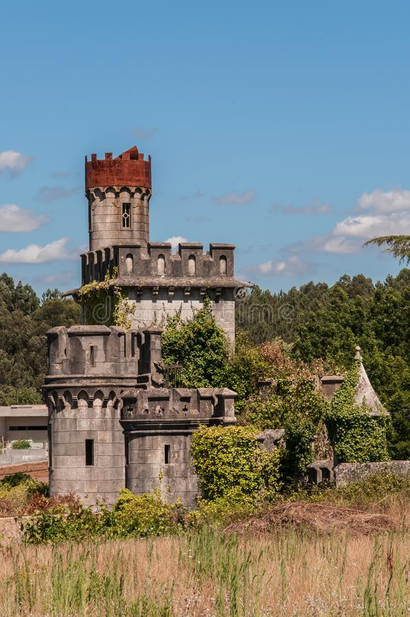 Vieux et abandonné château photos stock