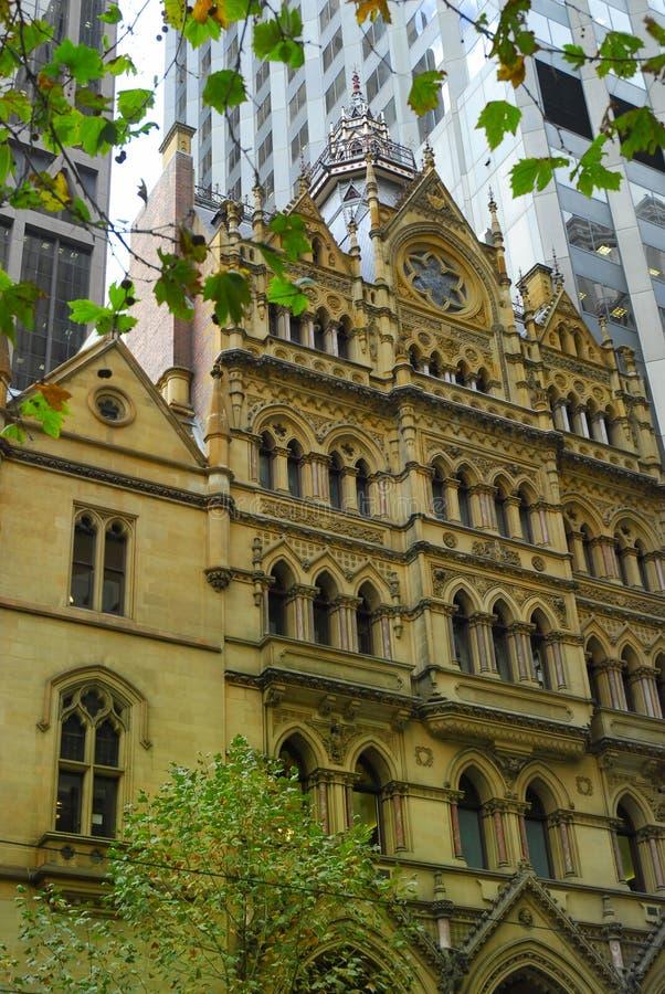 Vieux et neuf-Melbourne images libres de droits