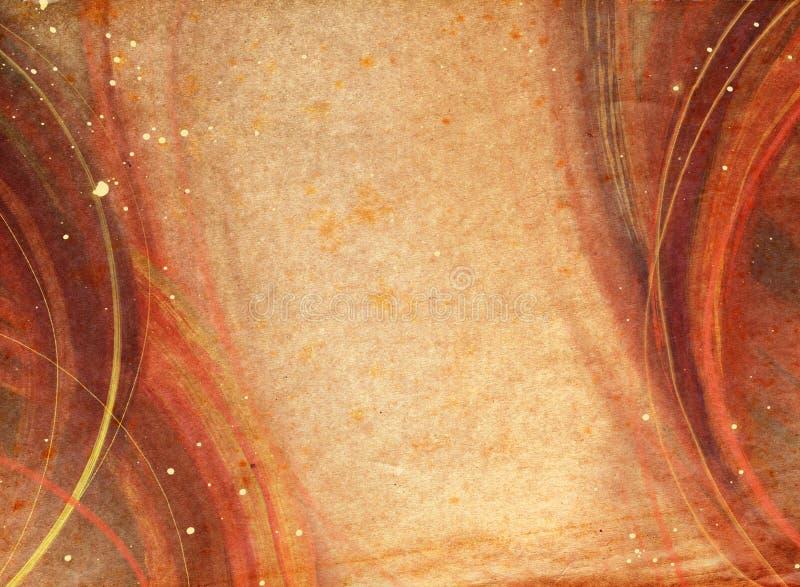 Vieux et usé fond de papier de texture photo libre de droits
