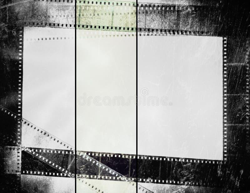 Vieux film de photographie images libres de droits