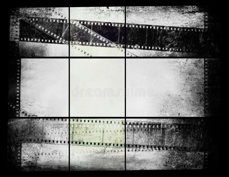 Vieux film de photographie photo stock