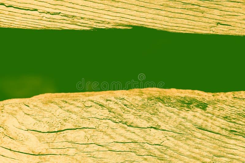 Vieux fond abstrait en bois en vert photo libre de droits
