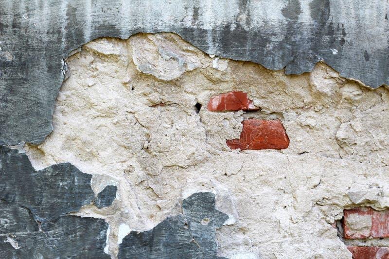Vieux fond blanc de mur de briques images stock