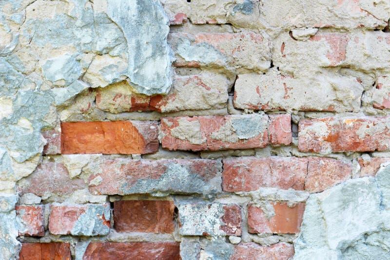 Vieux fond blanc de mur de briques photographie stock
