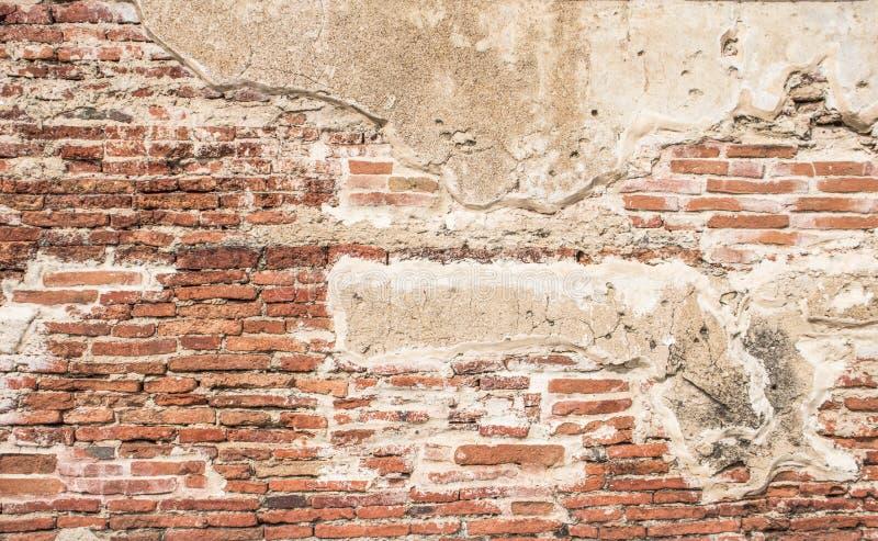 Vieux fond d'image de texture de mur de briques Le rouge grunge monopolisent la parole le fond photo stock