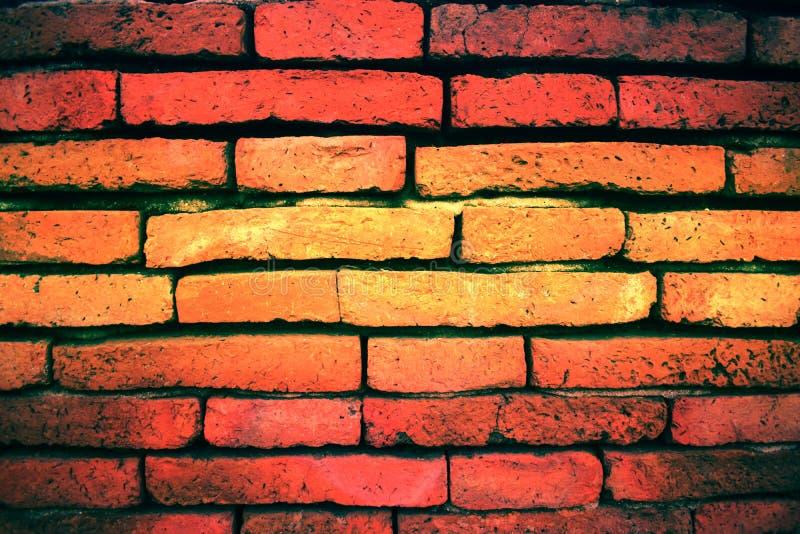 vieux fond de brique en Thaïlande PIC2 image stock