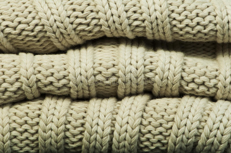 Vieux fond de chandail de knit photo stock