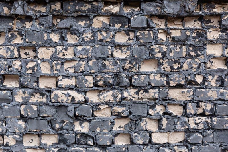 Vieux fond de mur de briques Texture grunge images libres de droits