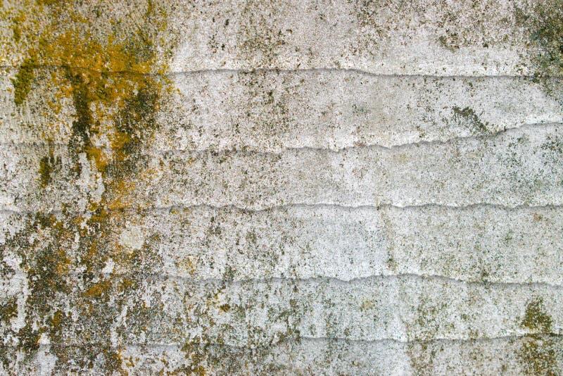 Vieux fond de mur de cru, cru de papier de fond, vieux mur, texturisé, sale, couleurs de saleté, mur blanc et moussu sale images libres de droits