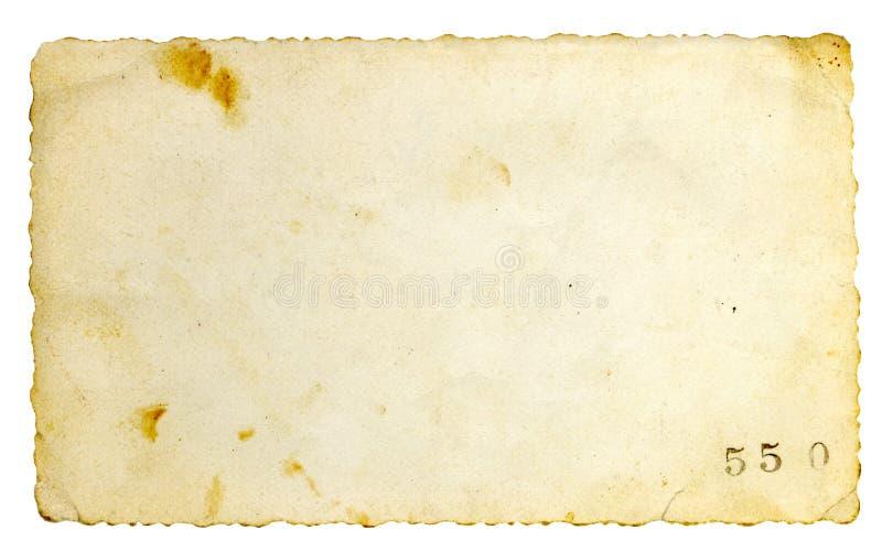 Vieux fond de papier photographie stock