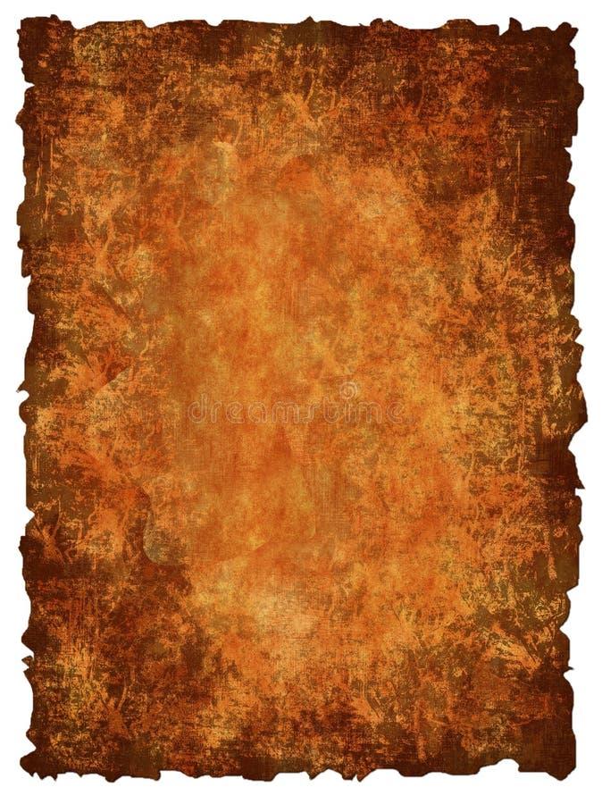 Vieux fond de papier illustration de vecteur