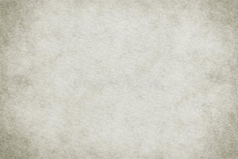 Vieux fond de papier coloré blanc naturel de toile de texture ou de cru photo stock