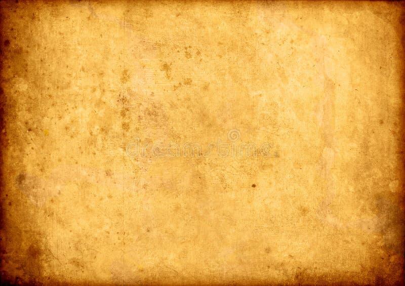 Vieux fond de papier de cru illustration de vecteur