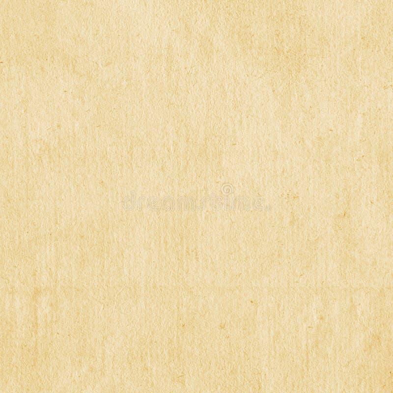 Vieux fond de papier de texture Papier beige image libre de droits