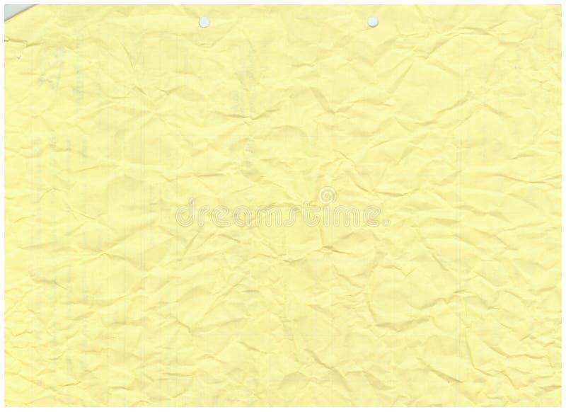 Vieux fond de papier froissé de modèle de texture photos libres de droits