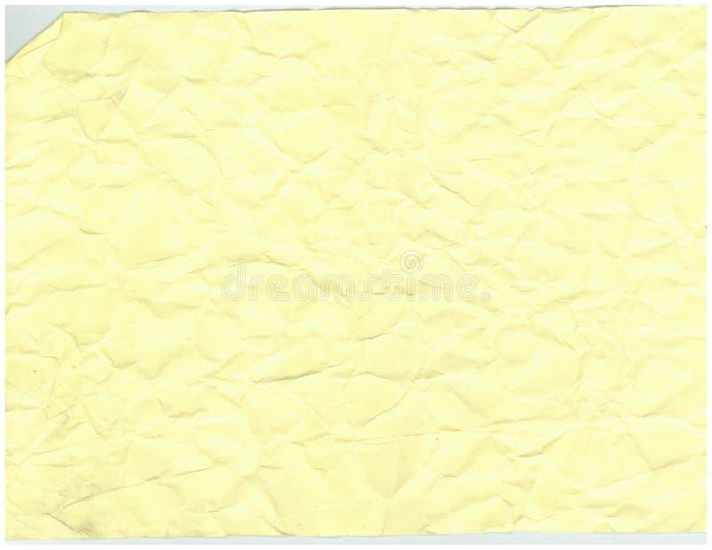 Vieux fond de papier froissé de modèle de texture images libres de droits
