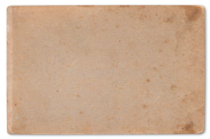 Vieux fond de texture de carton. images stock