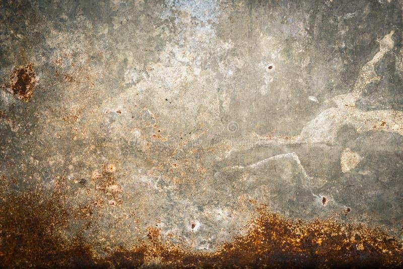 Vieux fond de texture de rouille de fer en métal photos libres de droits