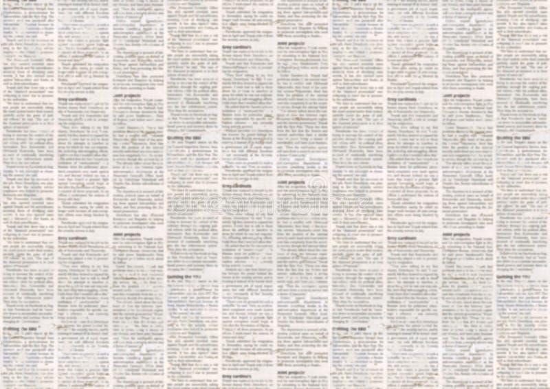 Vieux fond de texture de journal illustration libre de droits