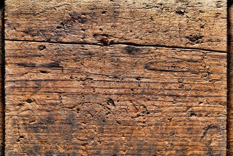 Vieux fond en bois affligé de planche photo stock
