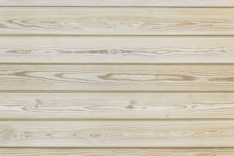 Vieux fond en bois brun clair de barrière image stock