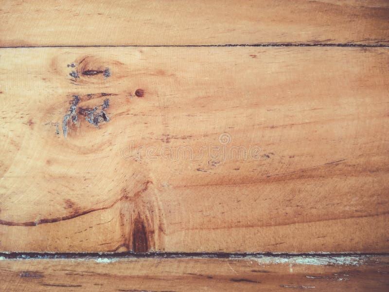 Vieux fond en bois brun de texture de table, éraflure, vintage, l'espace de copie photographie stock libre de droits