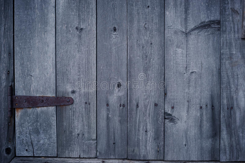 Vieux fond en bois de porte photographie stock libre de droits